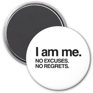 I AM ME 3 INCH ROUND MAGNET