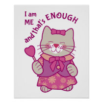 I am Me and That's Enough Poster