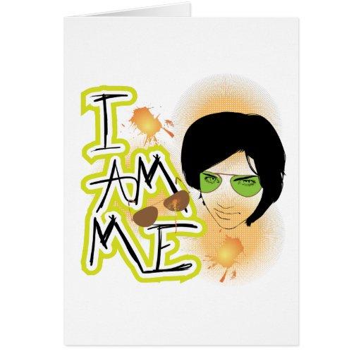 I am Me Cards