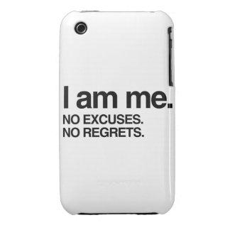 I AM ME iPhone 3 Case-Mate CASE