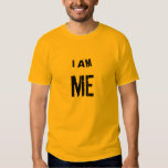 I AM ME (Mechanical Engineering) Tee Shirt