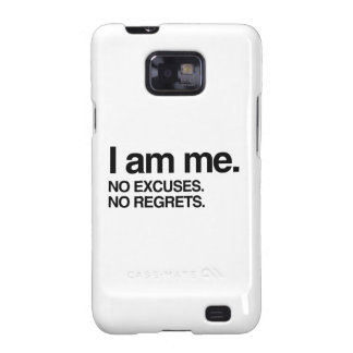 I AM ME SAMSUNG GALAXY S CASE