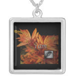 I Am Meditation Silver Plated Necklace