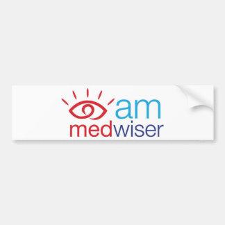 I am Medwiser Car Bumper Sticker