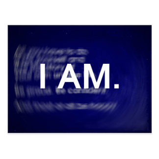 I AM - MetaPhysics - LOA Postcard