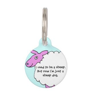 I am microchipped pet dog tag pet ID tag