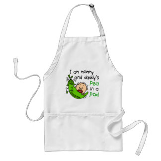 I Am Mommy & Daddy's Pea In A Pod 1 Apron