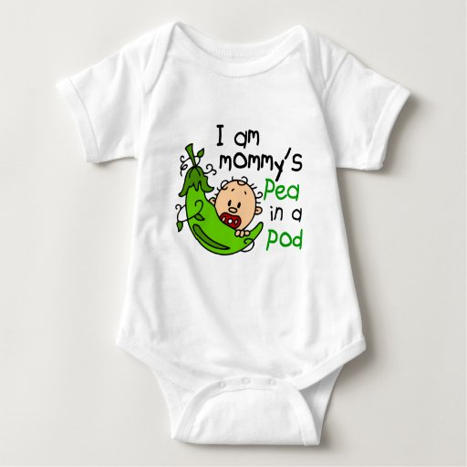 I Am Mommy's Pea In A Pod Infant Creeper