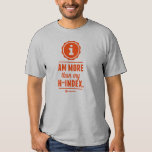 """""""I am more than my h-index"""" tee"""