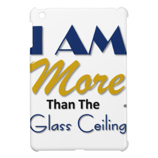 i am more than the glass ceiling tee iPad mini case