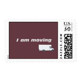 I am moving postage