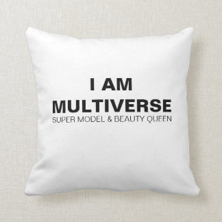I AM MULTIVERSE - Miss Multiverse Throw Pillow