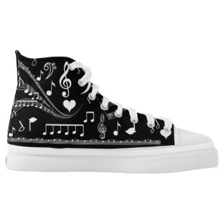I Am Music#4_ High-Top Sneakers