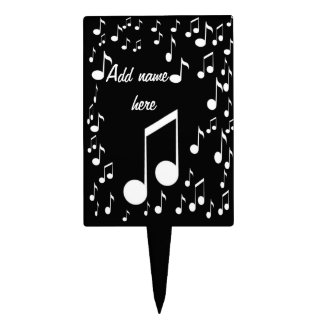 I Am Music_Cake Pick Cake Toppers