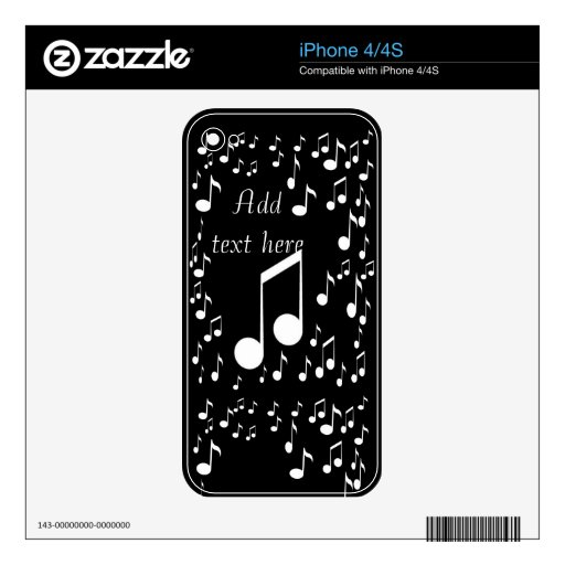 I am music_ skin for the iPhone 4S