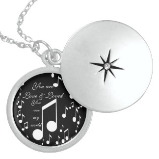 I Am Music_ Sterling Silver Necklace