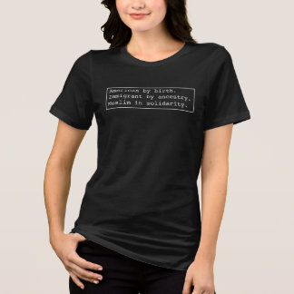 I am #MuslimInSolidarity T-Shirt
