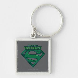 I Am My Dad's Kryptonite Keychain
