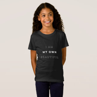 """I am my own beautiful"" t-shirt for youth"
