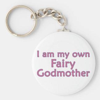 I Am My Own Fairy Godmother Keychain