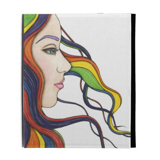 I Am My Own Rainbow iPad Folio Caseable Case iPad Folio Case