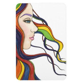 I Am My Own Rainbow Premium Flexi Magnet