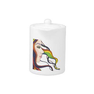 I Am My Own Rainbow Teapot