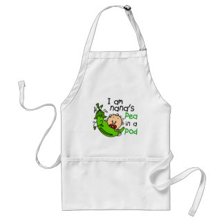 I Am Nana's Pea In A Pod 1 Adult Apron