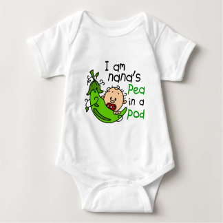 I Am Nana's Pea In A Pod 1 Baby Bodysuit