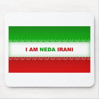 I am Neda Irani Mouse Pad
