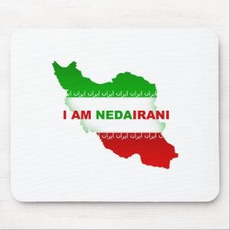 I am NedaIrani Mouse Pad