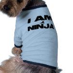 I Am Ninja Pet T-shirt