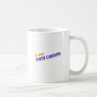 I am North Carolina shirts Mug