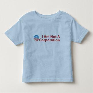 I Am Not A Corporation Toddler T-shirt