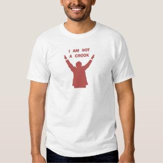 I Am Not A Crook - Red T-Shirt