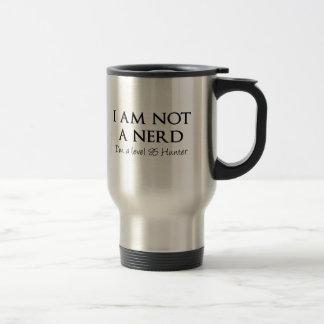 I am not a nerd I m a level 85 Hunter Coffee Mug