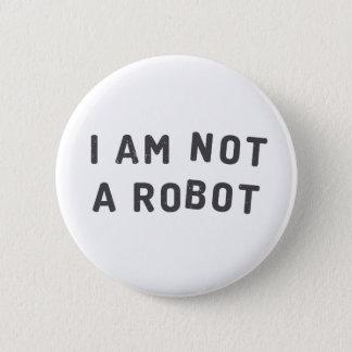 I am not a robot button