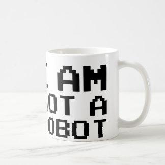 I Am Not A Robot Coffee Mugs