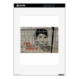 I am not a terrorist skins for iPad