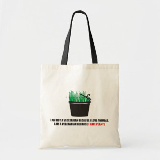 I am not a vegetarian because I love animals Tote Bag