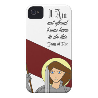 I Am Not Afraid - Joan of Arc iPhone 4 Case-Mate Case