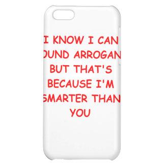 i am not arrogant iPhone 5C cases