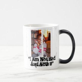 """I Am Not Bad Just Active""-mug 11 Oz Magic Heat Color-Changing Coffee Mug"