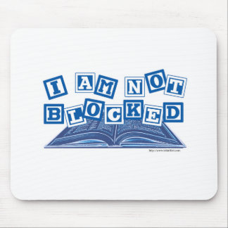 I am not blocked mouse pad
