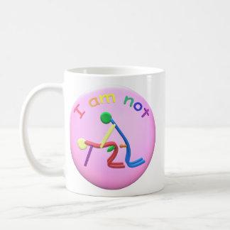 I am not gay coffee mug