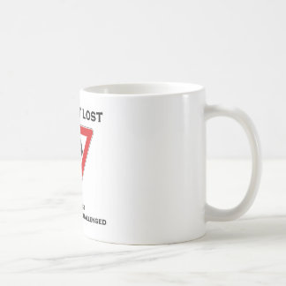 I Am Not Lost I Am Just Directionally Challenged Coffee Mug