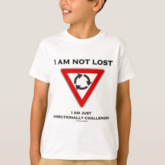 I Am Not Lost I Am Just Directionally Challenged T-Shirt