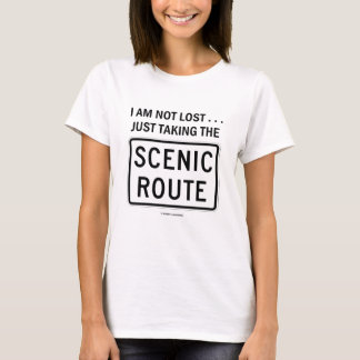 I Am Not Lost ... Just Taking The Scenic Route T-Shirt