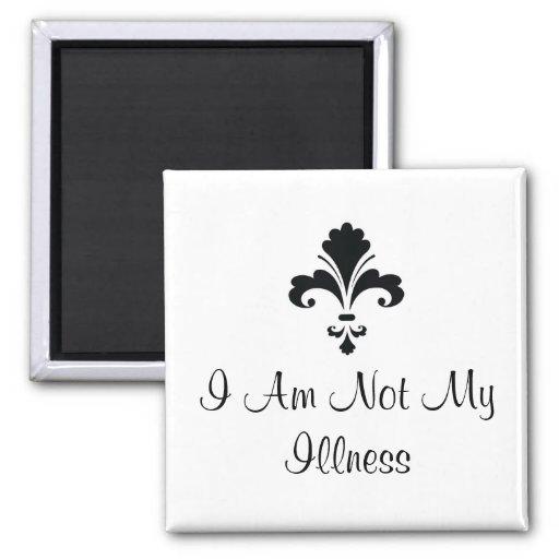 I Am Not My Illness Fridge Magnets