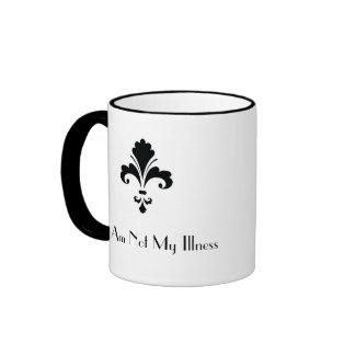 I Am Not My Illness Ringer Coffee Mug